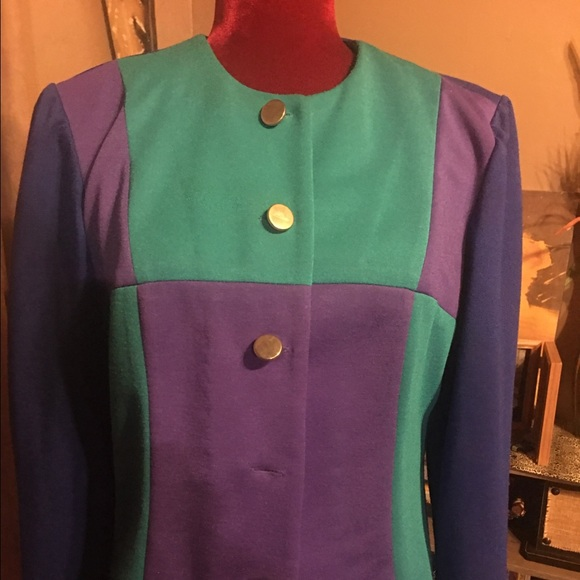 Color Block Jacket
